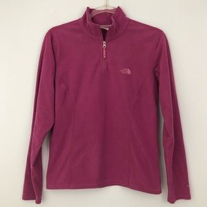 The North Face 1/4 Zip Fleece Sweater TKA 100 Cozy